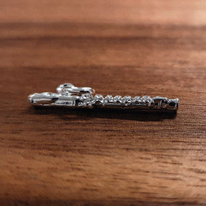 Silver Flute charm