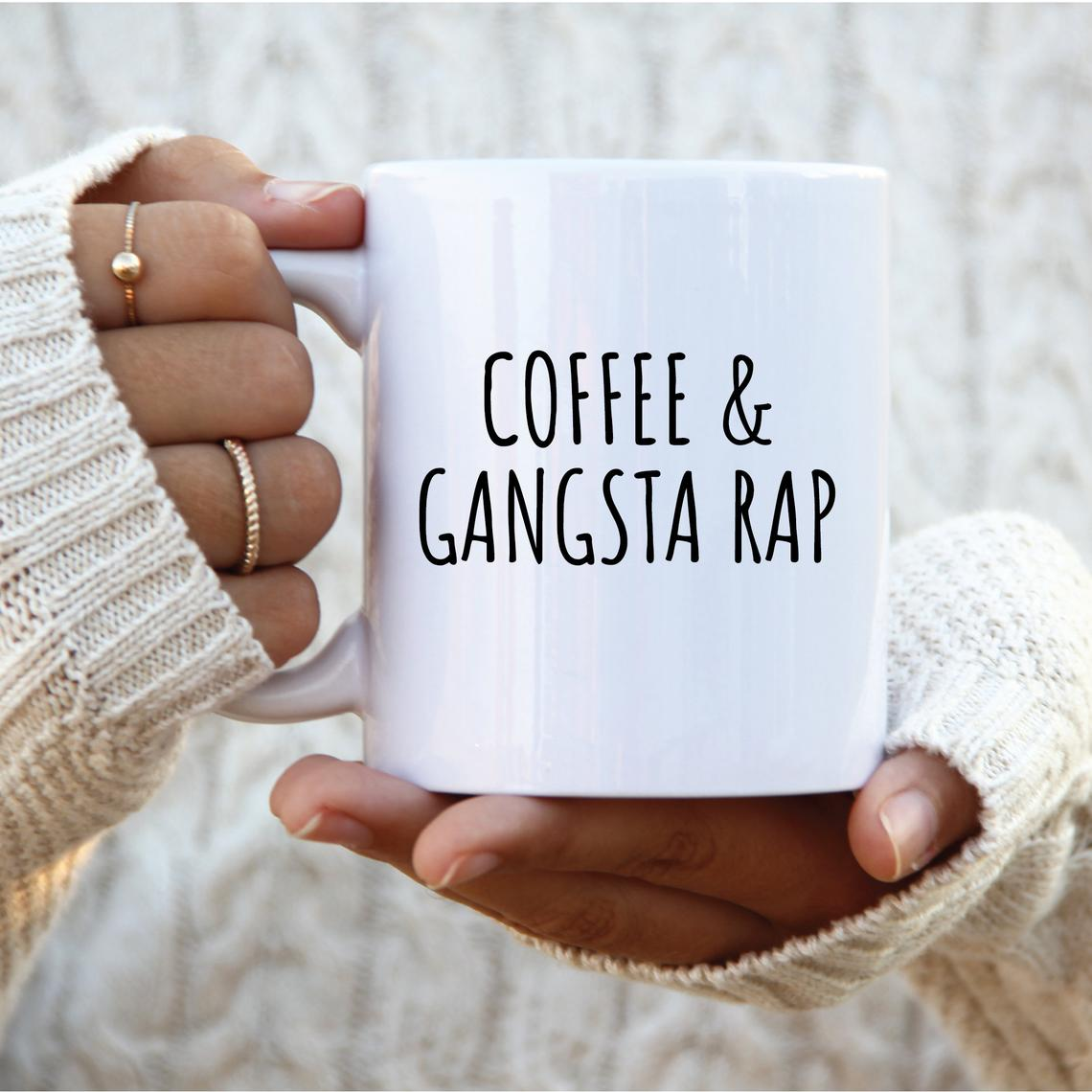 Coffee & Gangsta Rap Mug