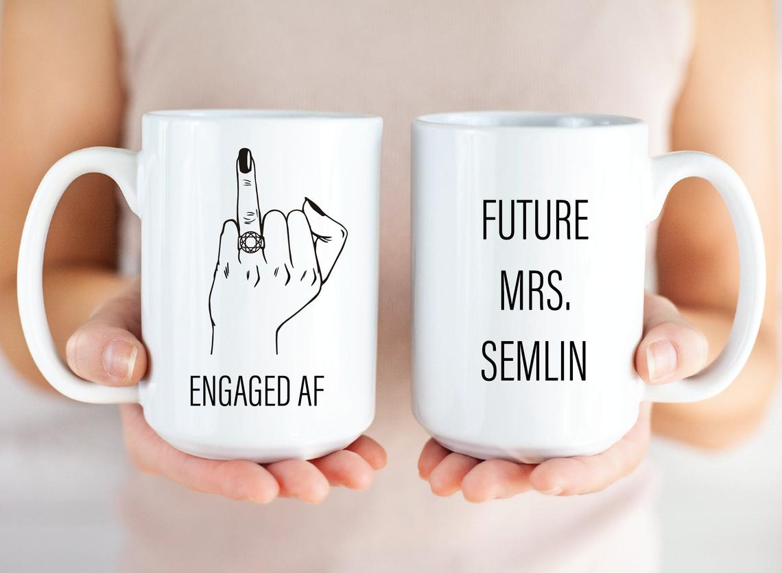 Engaged AF! Future Mrs. Mug