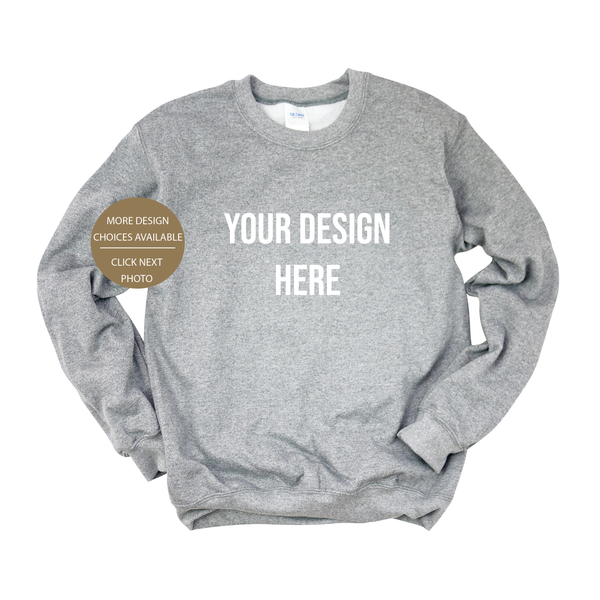Design Your Own Crewneck Sweater