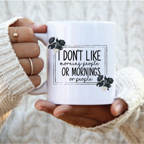 I don't like People Mug