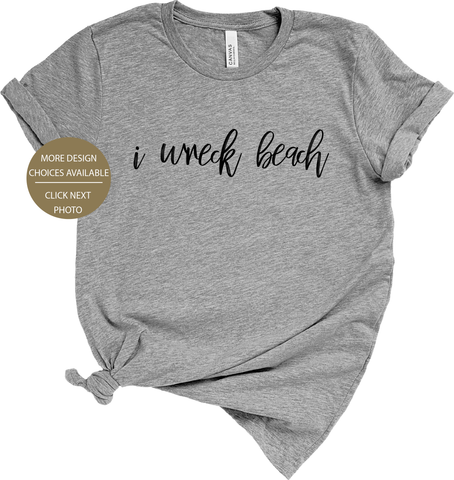 I Wreck Beach Shirt - The Vancouver Collection