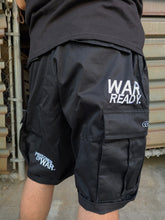 "Load image into Gallery viewer, ""WAR READY"" MILITARY SHORTS"