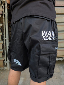 """WAR READY"" MILITARY SHORTS"