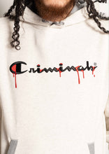 "Load image into Gallery viewer, NEW ""CRIME CHAMP"" DRIP HOODIE"