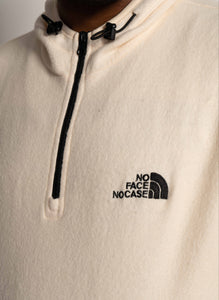 """NO FACE NO CASE"" FLEECE HOODIE"