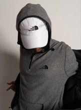 "Load image into Gallery viewer, ""NO FACE NO CASE"" FLEECE HOODIE"