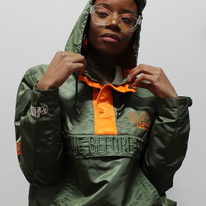 """GRIMEY IS BEAUTIFUL"" PULLOVER ANORAK JACKET"