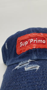 """SUP'PRIMO DARK DENIM PAINT LOGO 1 OF 1"""