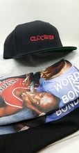 "Load image into Gallery viewer, ""WORD IS BOND"" CLOCKERS TEE"