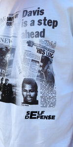 """LARRY DAVIS"" NOT GUILTY TSHIRT"