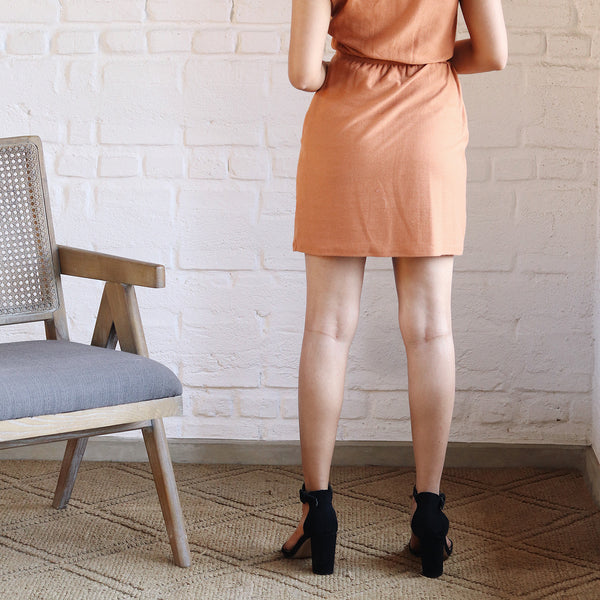 Comfy fit jersey mini dress