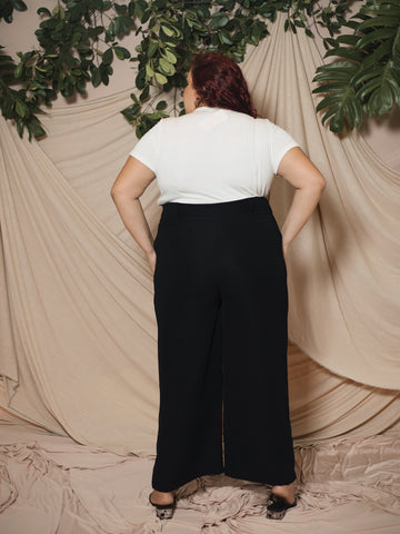 Wide Leg Culotte  (Plus Size)