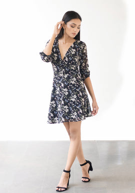 Bustier button down dress
