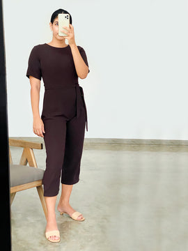 Round Neck Jumpsuit