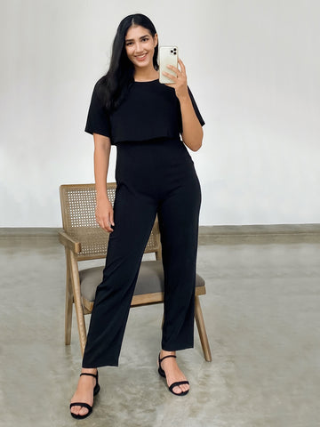 FRONT PANEL DETAIL JUMPSUIT