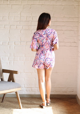 MOCK WRAP ROMPER