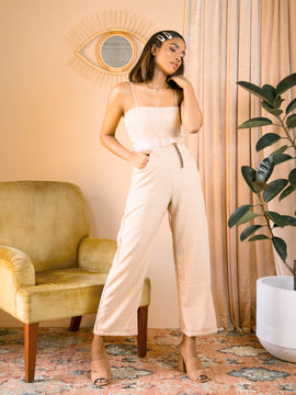 Buckle detailed  Jumpsuit