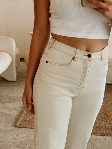 Marine Straight Stretch Jean
