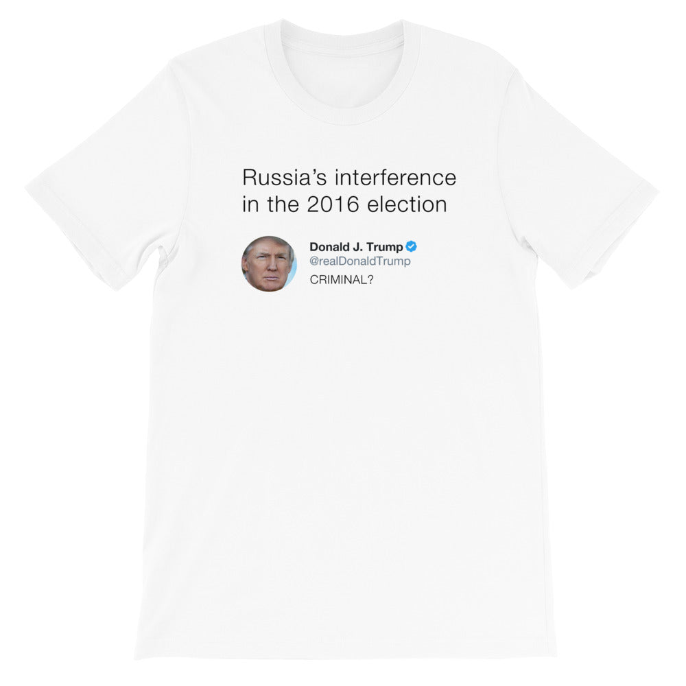 Russia's interference in the 2016 election