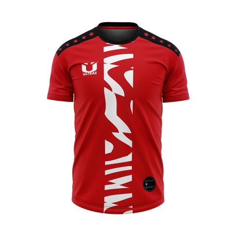 Customized Jersey India - Exotic Red Design - COPYCATZ