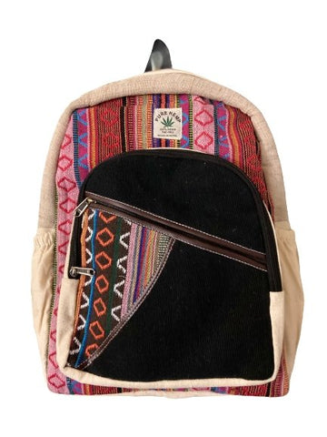 Handmade Hemp Back Pack