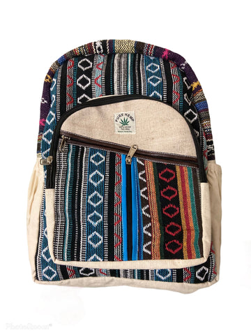 Handmade Himalayan Hemp Back Pack