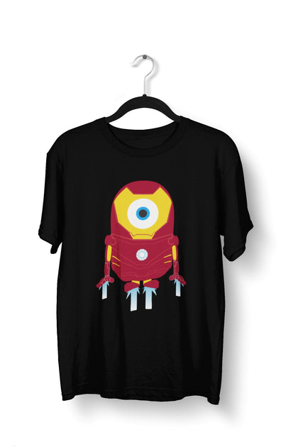 thelegalgang,Iron Man Minion Graphic T-Shirt for Men,.