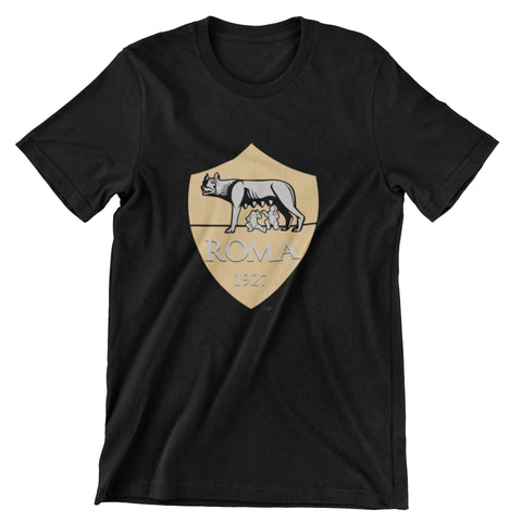thelegalgang,AS Roma Football Club Logo T-shirt Gold Edition,JERSEY.