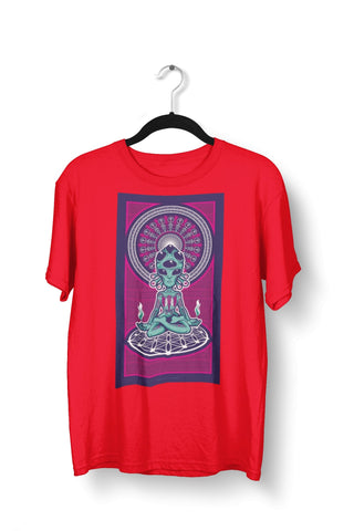 thelegalgang,Alien Trippy Psychedelic T-Shirt for Men,.