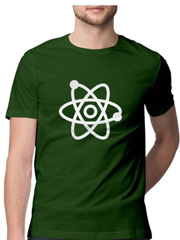 Science symbol of atom T-Shirt - COPYCATZ