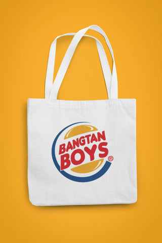 thelegalgang,BTS Bangtan Boys Canvas Tote Bag,.