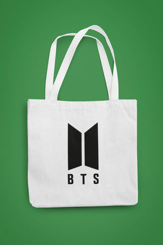thelegalgang,BTS Logo Canvas Tote Bag,.