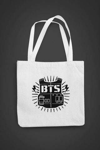 thelegalgang,BTS Merch Canvas Tote Bag,.