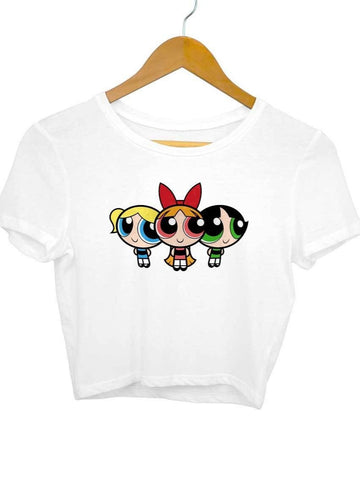 Powerpuff Girls Crop Top - COPYCATZ