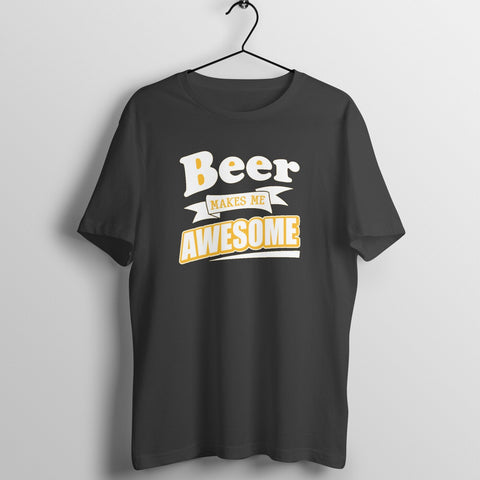 Beer is Awesome Casual Tshirt for Men