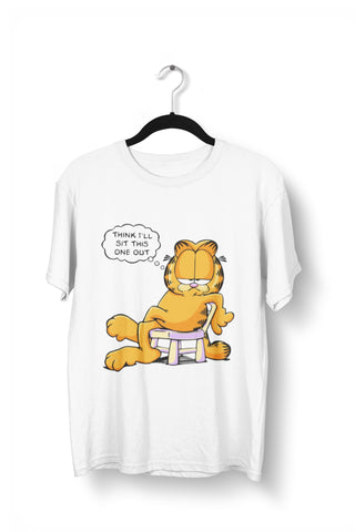 Garfield - I will Sit This One T shirt for Men