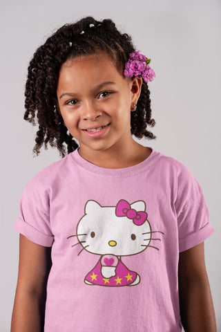 thelegalgang,Hello Kitty in Car Kids Graphic T-Shirt,KIDS.