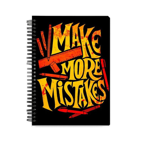 Make More Mistakes Notebook - COPYCATZ