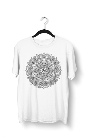 thelegalgang,Psychedelic Mandala Graphic Art T-Shirt for Men,.