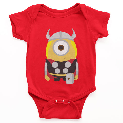 thelegalgang,Minion Thor Graphic Onesies for Babies,.