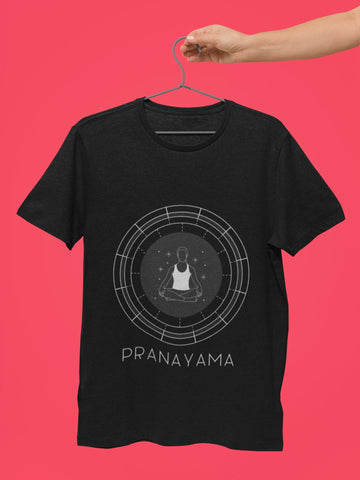 thelegalgang,Pranayama design Yoga T shirt for Men,MEN.