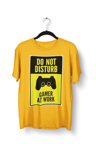thelegalgang,Gamer at Work - Gaming T-Shirt for Men,MEN.