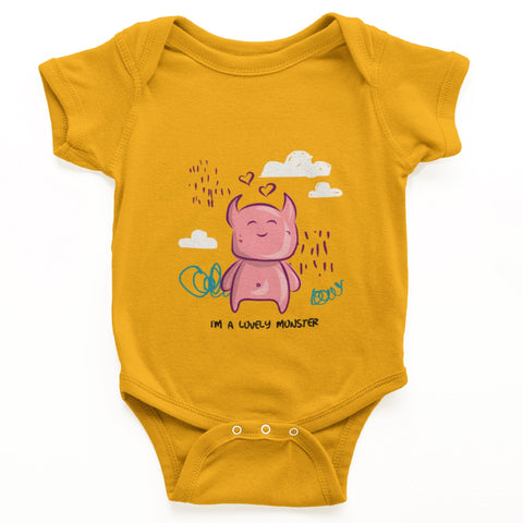 thelegalgang,I am a Lovely Monster Graphic Onesies for Babies,.