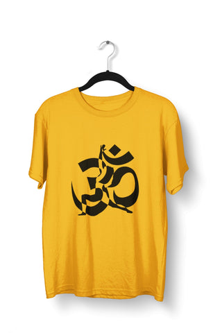 thelegalgang,Om Yoga Graphic Printed T-Shirt for Men,.