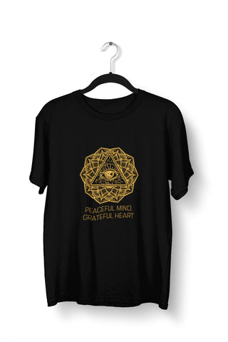 thelegalgang,Third Eye Peaceful Mind Yoga T-Shirt for Men,.