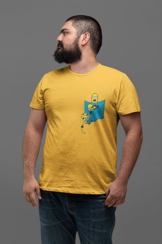 Minion Banana in a Pocket Tee - COPYCATZ