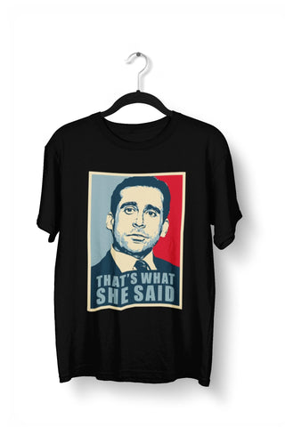 thelegalgang,Michael Scott Thats What She Said T-Shirt,.