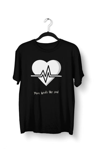thelegalgang,Yoga Heals the Soul T-Shirt for Men,.