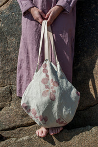 BUGS & LEAVES | LINEN | Origami bag
